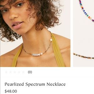 NWTA Free People Merci Necklace